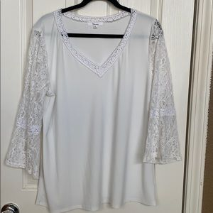 89th Madison Crepe Blouse